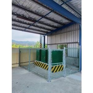 鍍鋅鐵網圍籬2-統式鐵網工程