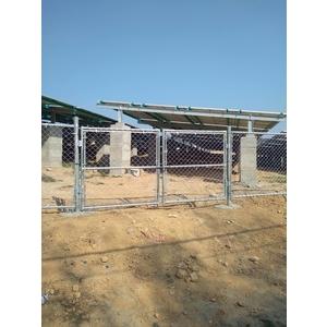 太陽能圍籬工程-統式鐵網工程