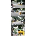 興安華城 中央分隔桿(黃色)NB-75-電動柵欄機NB-350F-箭頭e-TAG長距離讀卡機