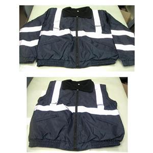 冬季厚棉反光外套