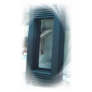 錏鐵門-粉體烤漆