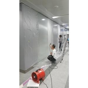 立面牆銀色氟碳烤漆工程-太鼎烤漆工程有限公司