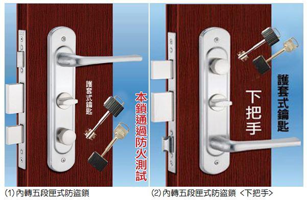 玄關綱木防火門-鋁雕板(12-190)敦煌