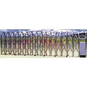 伸縮式自動大門-富貴型