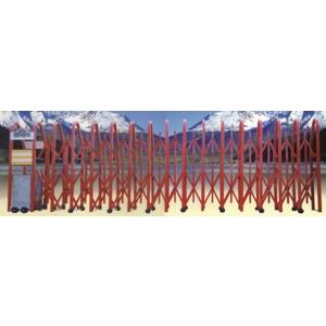 伸縮式自動大門-富麗型