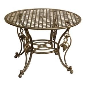 鑄鋁休閒桌