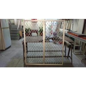 鋁花格防盜窗-平面型-和隆企業社