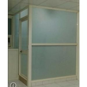 強化白膜膠合玻璃隔間-和隆企業社