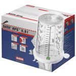 SATA RPS 900ml 通用型/拋棄式噴杯/噴漆/調色/密封/耗材