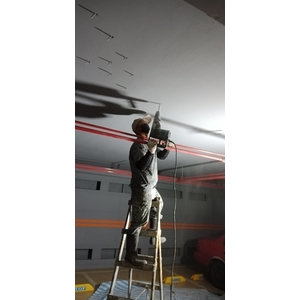 台北大方社區地下停車場-樓板抓漏整修-帝華實業股份有限公司