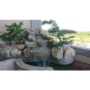 噴泉水池-冠霖園藝造景行