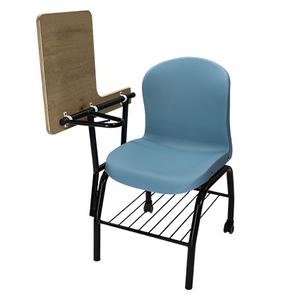 可掀式講堂椅(木質桌板、活動輪)