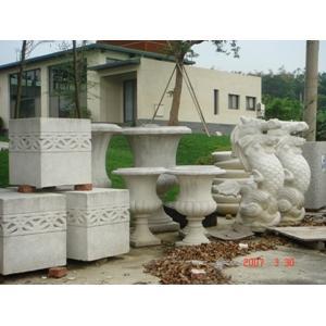 中庭花盆造型