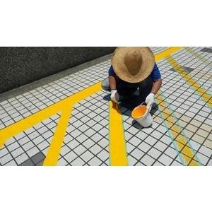停車格劃線-晶鑽2-美速企業有限公司