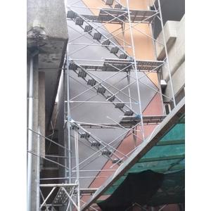 大理石漆 - 台北市民生國小電梯外牆 (2020年2月)-晟冠實業股份有限公司