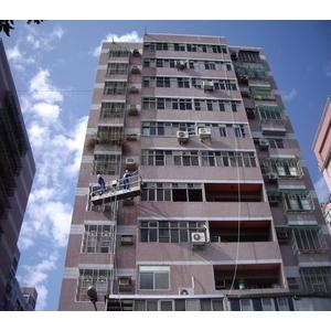 外牆清洗施工實景05-再新興業有限公司