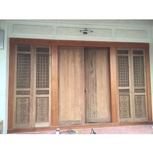 傳統門扇雕刻-天興中木產有限公司