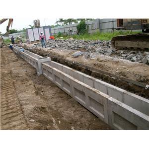 U型溝側面施工圖-景觀嵩水泥製品行