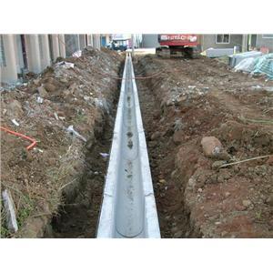 U型溝施工圖2-景觀嵩水泥製品行