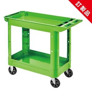 全方位二層工具車 (綠色)