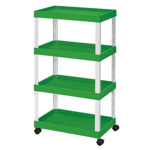 移動式置物架-青草綠(平板)
