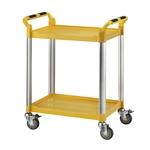 二層工作推車-標準型(黃)