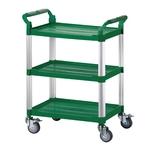 三層工作推車-綠色標準型
