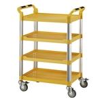 四層工作推車-標準型(黃)