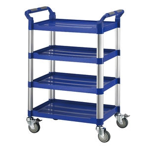 四層工作推車-標準型(藍)