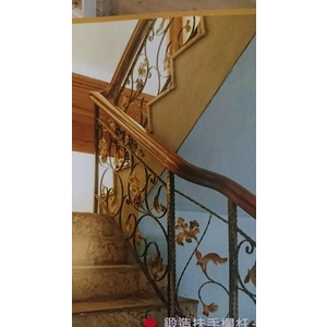 鍛造樓梯扶手-大實行
