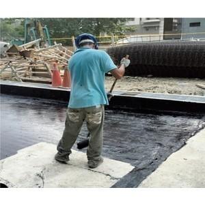 防水毯施作(施工中、施工完成)-行通企業有限公司