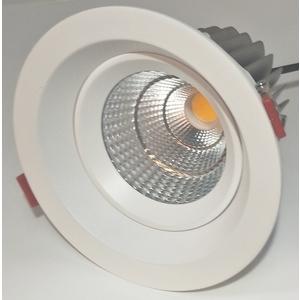 20W 崁燈內縮可擺動/挖孔125mm