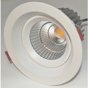 20W 崁燈內縮可擺動/挖孔150mm