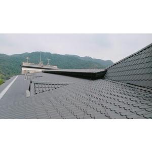 屋頂琉璃鋼瓦防水工程