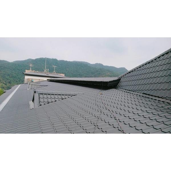 屋頂琉璃鋼瓦防水工程-金準興鋼鐵有限公司-新北
