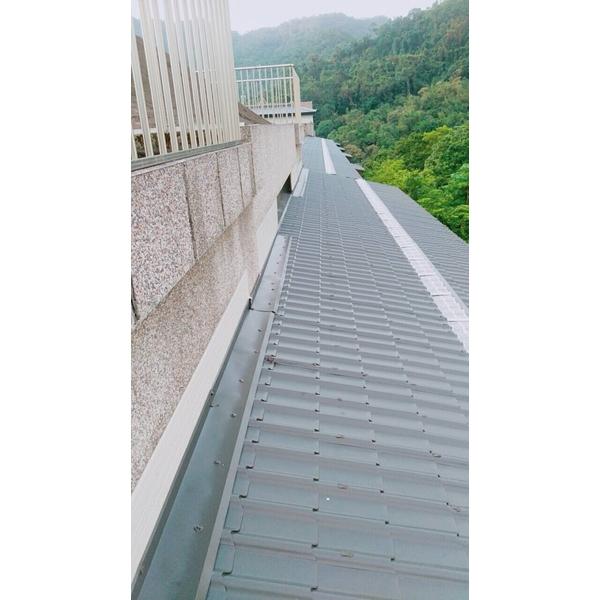屋頂琉璃鋼瓦防水工程2-金準興鋼鐵有限公司-新北