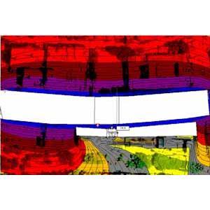 交通道路及工業建築3D電子地圖低頻及全頻聲場模擬分析技術