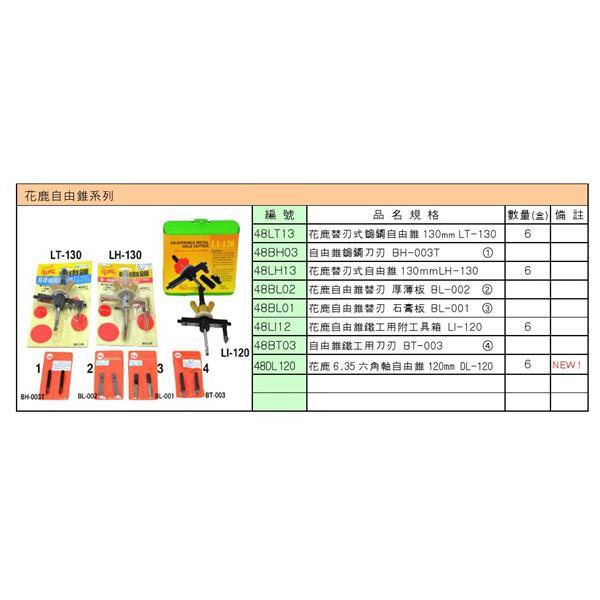 花鹿自由錐系列-高宇五金實業有限公司-彰化