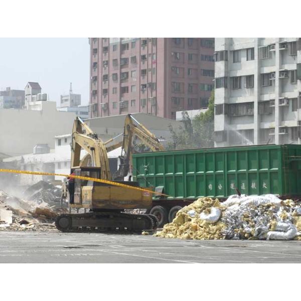 建築物拆除-廢棄物清運