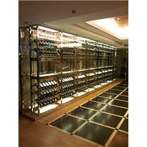 板橋吉立餐廳酒櫃1-振揚金屬設計工程行-新北