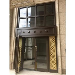 不銹鋼大廳門-上騰金屬有限公司-基隆