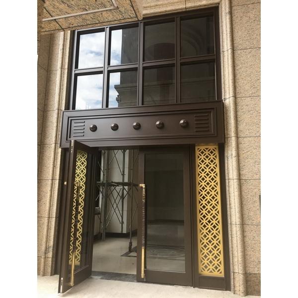 不銹鋼大廳門
