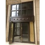 不銹鋼大廳門-上騰金屬有限公司-鋁格柵,鋁包板,玻璃欄杆,樓梯扶手,金屬帷幕牆,不銹鋼大廳門
