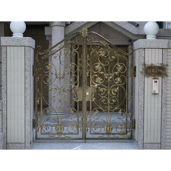 鍛造大門欄杆