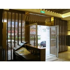 不銹鋼鍍鈦大廳門-上騰金屬有限公司-基隆