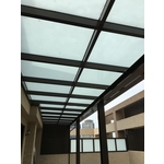 鋼構玻璃採光罩