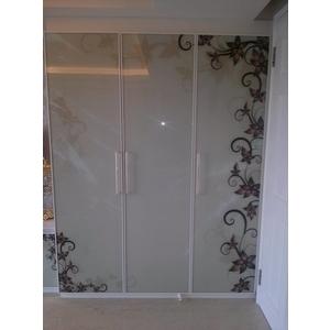 數位影像玻璃門