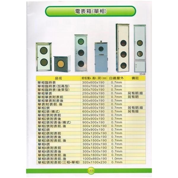 11 電表箱(單相)