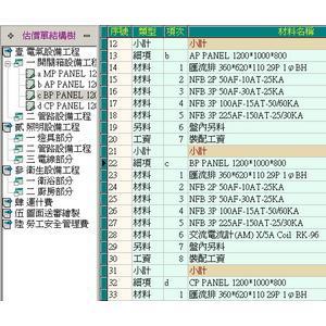 估價單結構樹-宇天資訊有限公司-台中