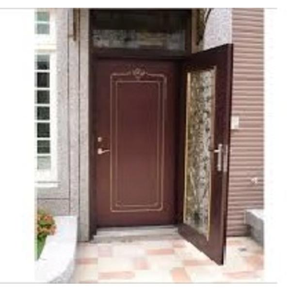 烤漆雙玄關門